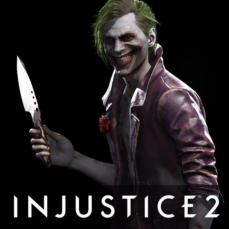 The Joker - Injustice 2, Ian Naud on ArtStation at https://www.artstation.com/artwork/ymKy5