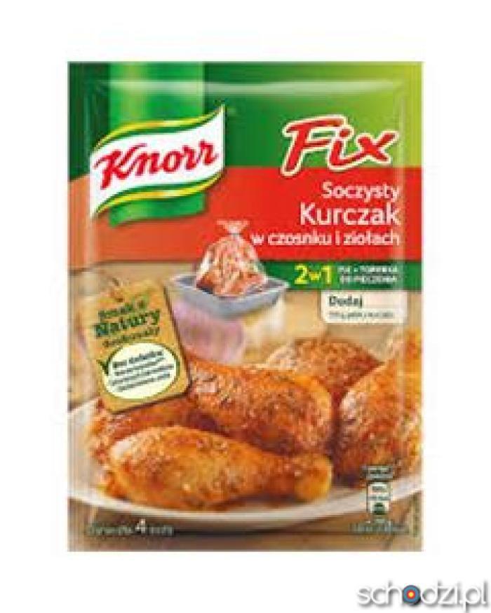 Knorr Fix Kurczak zioła - Schodzi.pl