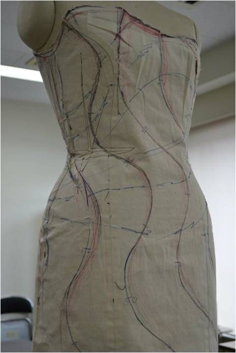 """Draping - Shingo Sato, japanese designer, approach called """"Transformational Reconstruction."""" Other design ideas at this site as well"""