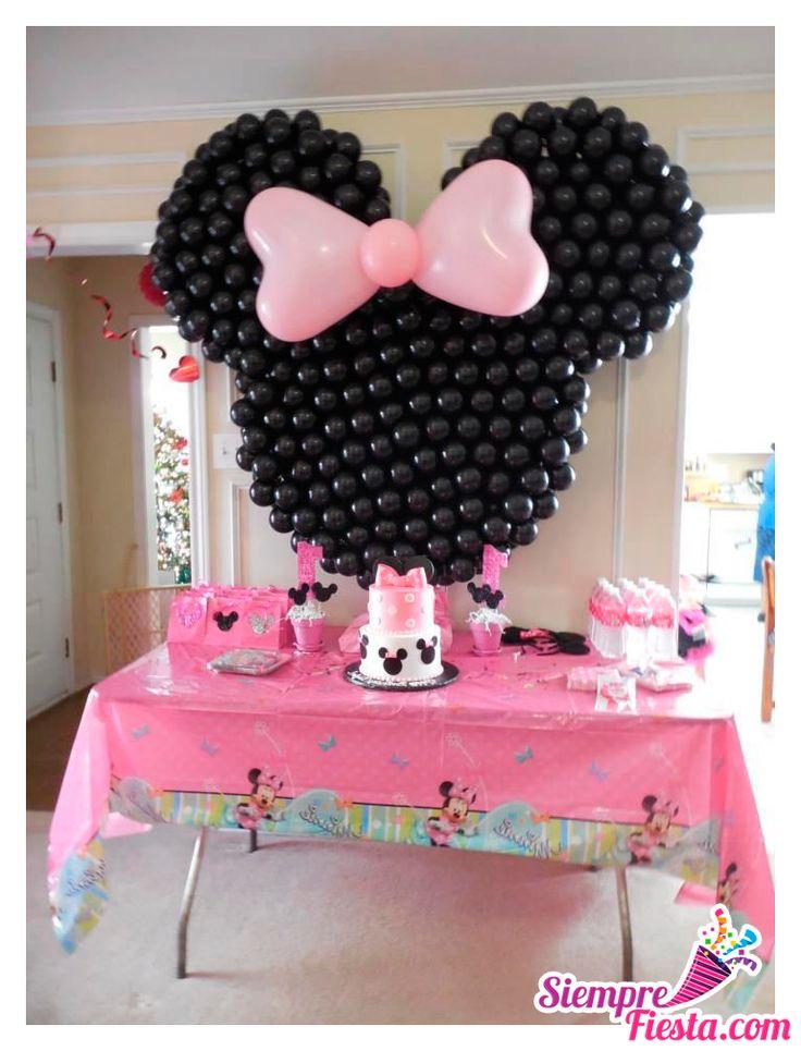 46 best fiesta de minnie mouse images on pinterest - Fiestas infantiles ideas ...