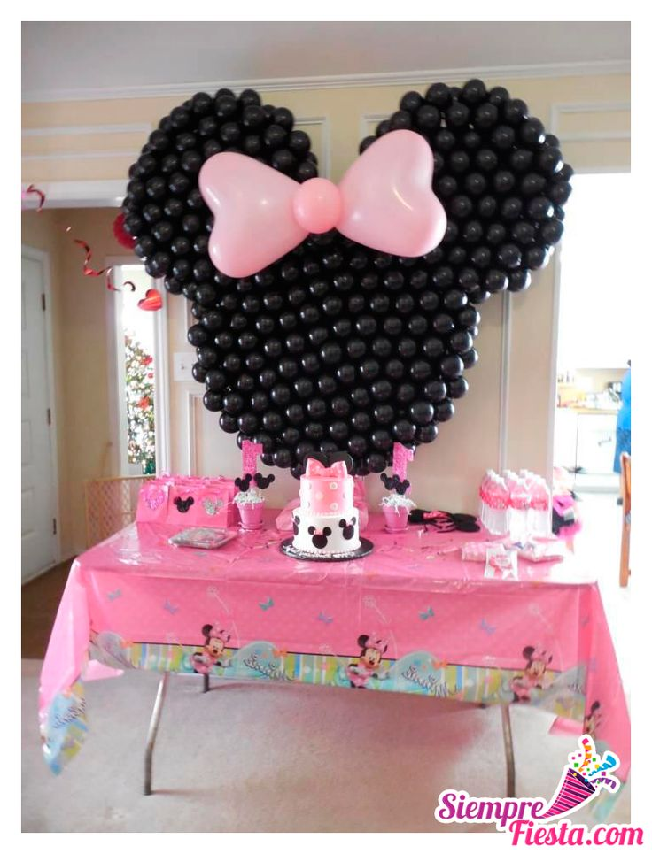 46 best fiesta de minnie mouse images on pinterest - Fiesta cumpleanos infantil ...