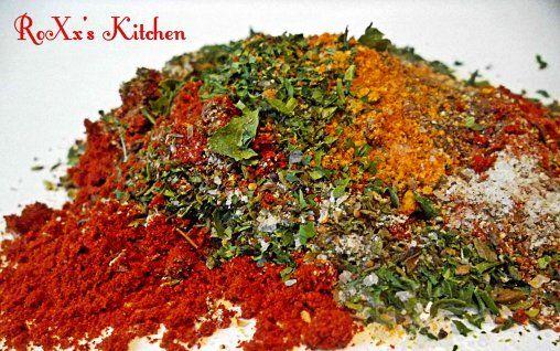 Retete Culinare - Condiment pentru carne de pui si porc