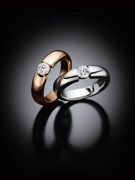 WEMPE Juwelier Schmuck Solitaire Ringe Suspense