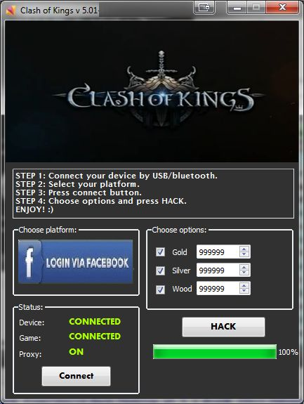 http://www.hackspedia.com/clash-of-kings-facebook-hack-cheats-tool/