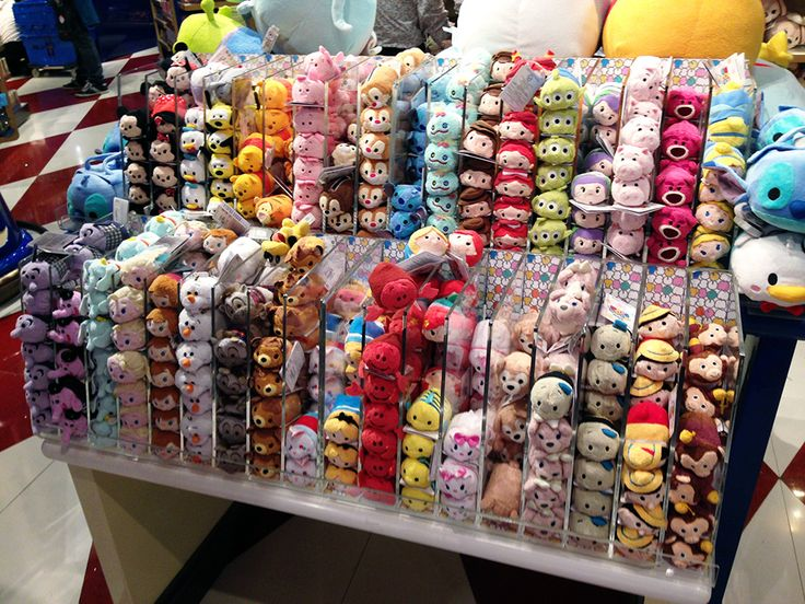 Hong Kong Airport Disney Store Mini Tsum Tsums>>>I want this...I need this