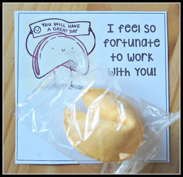 Improving staff & teacher morale / appreciation / encouragement. Who doesn't love a fortune cookie?! (clipart from Clipart Kid)