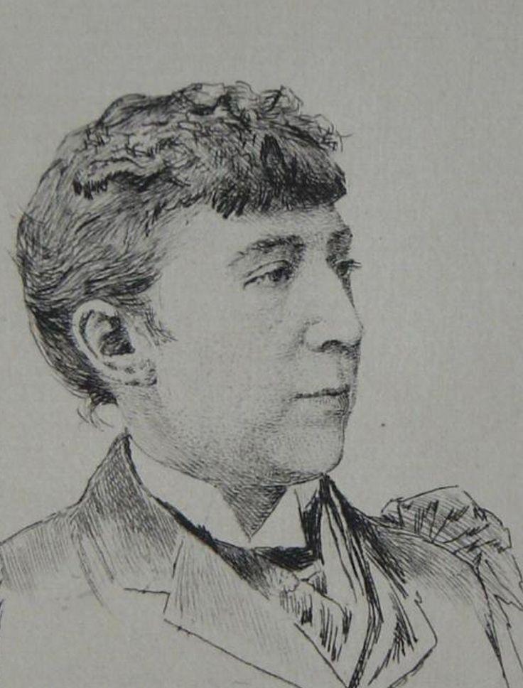 Abbema Louise,1894 -  Adolphe Lalauze - Eau forte - détail -