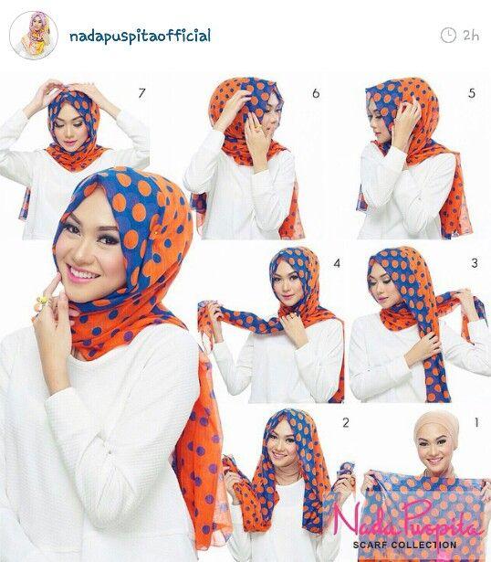 Simple Style Turkish Hijab