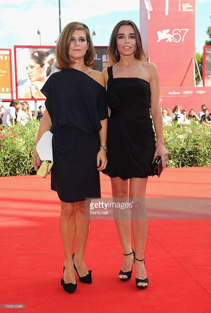 Photo d'actualité : Actress Marina Fois and actress Elodie Bouchez...