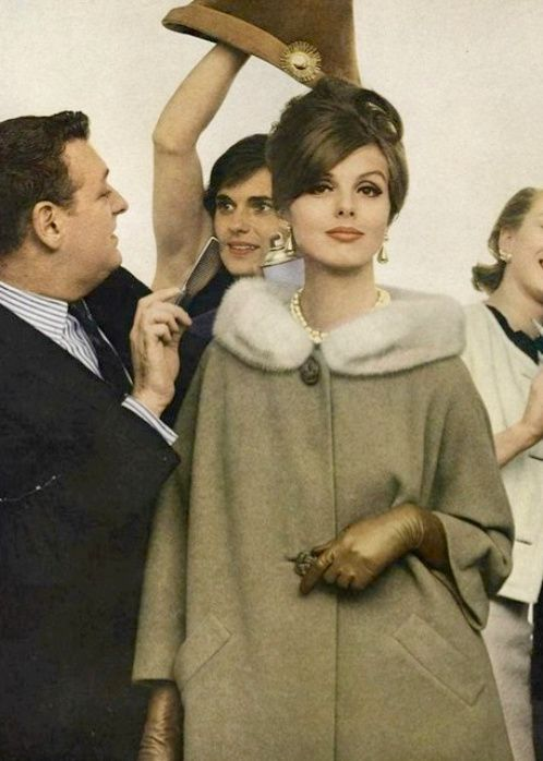 1962 cashmere coat with EMBA mink collar from Country Tweeds