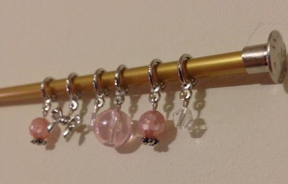 Love this cute set of stitch markers!