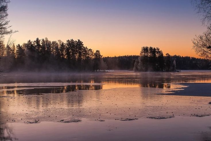 Cold morning colors by Petri Forss