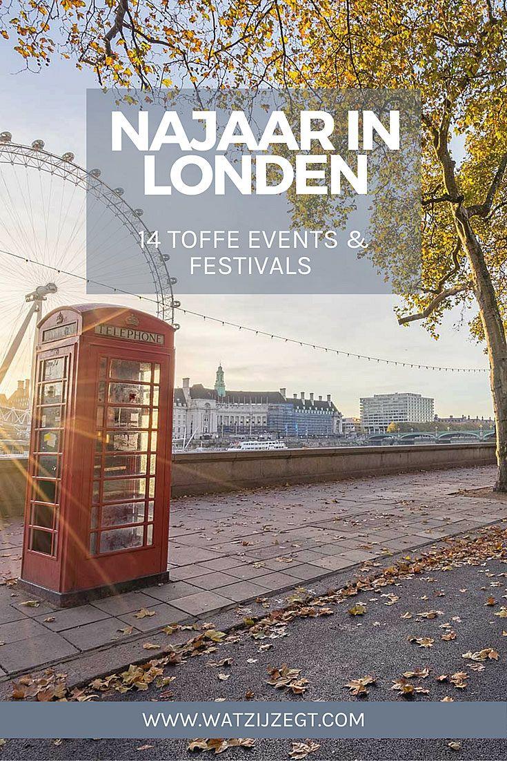 Dit najaar doen in Londen: 14 activiteiten