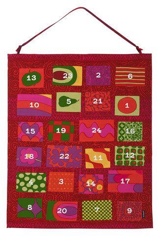 Isola's Advent Calendar | Kiitos Marimekko