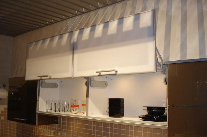 flip up cabinet door - Google Search   Kitchen   Pinterest
