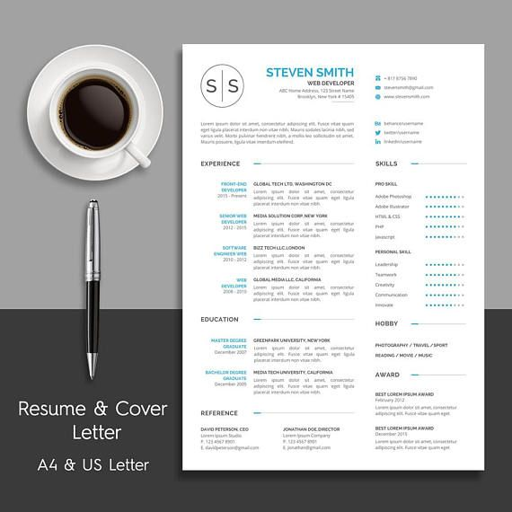 8 best Resume Template images on Pinterest - font to use for resume