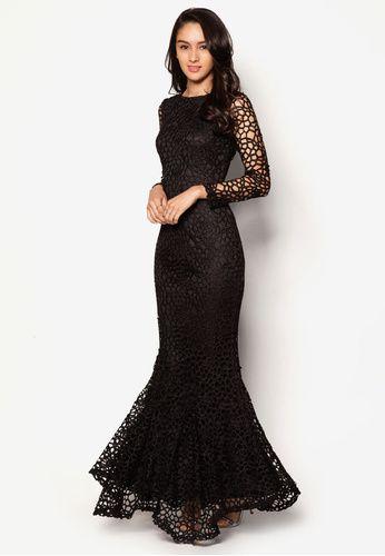 Crochet Lace Mermaid Dress