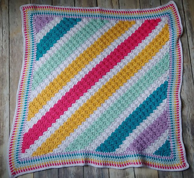 After The Storm Baby Blanket Free Crochet Pattern – CK Crafts   Crochet  patterns, Free crochet pattern, Pattern