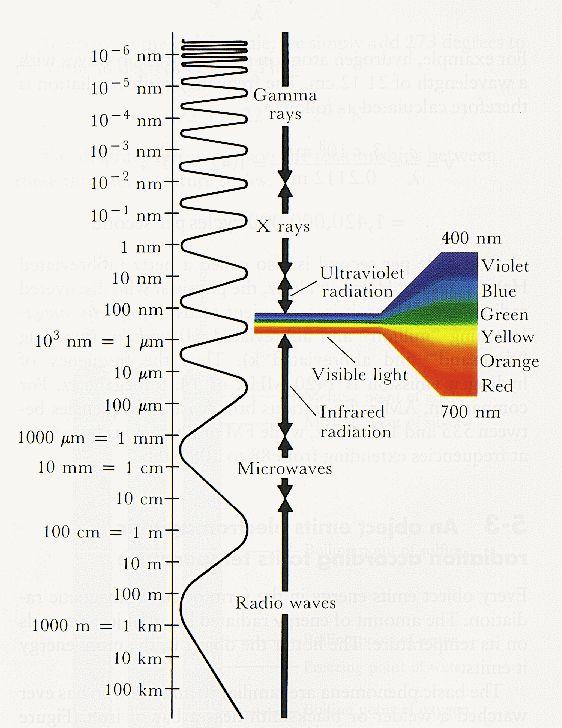 Electromagnetic spectrum www.nipon-scope.com