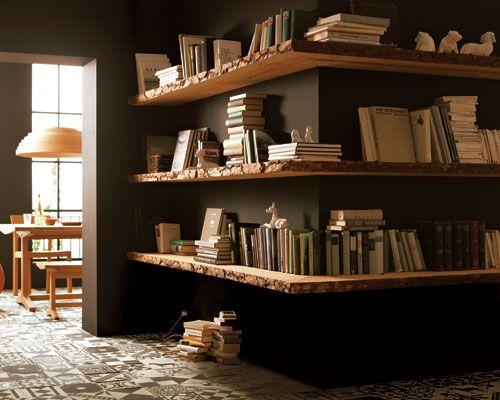 die besten 17 ideen zu b cherregale auf pinterest wandregale. Black Bedroom Furniture Sets. Home Design Ideas