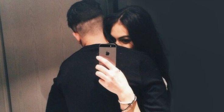 Románticas selfies que debes tomarte con tu novio