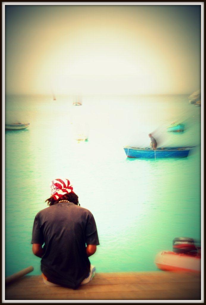 Mirando al mar. Un sueño para mucha gente.