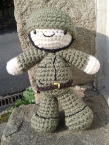Remembrance Day Soldier (FreePattern)
