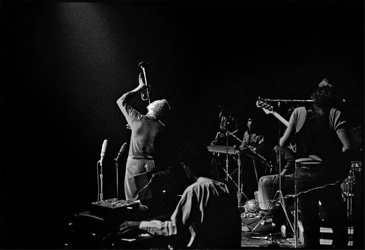 Glen Craig Band members: Airto Moreira, Chick Corea, Keith Jarrett, Dave Holland, Steve Grossman Miles Davis, live at Fillmore East, NYC, June 17, 1970 Gelatin silver print :)