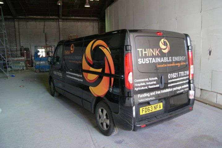 Van Graphics by Mardens #Think #Sustainable