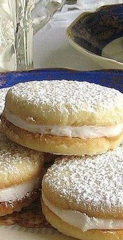 Tea: Polish Lemon Sandwich #Tea Cookie Recipe.