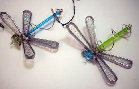 Carolina Creations  | Dragonfly glass suncatcher |  Fine Art Contemporary Gift Gallery