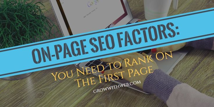 Find out the up-to-date resource on on-page SEO factors. Know what's important and how to prioritize to improve your website's SEO efforts.
