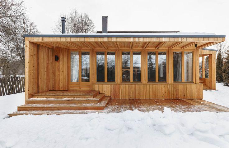 Как перестроить старый деревянный дом: реальный пример в Тарусе — INMYROOM