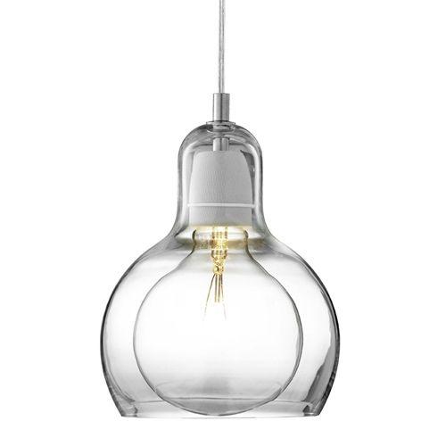 Bulb Mega Pendant SR2 Klar - Hengelamper - Mekavi ApS