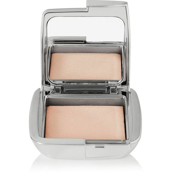 Hourglass Ambient® Strobe Lighting Powder - Brilliant Strobe Light ($47) ❤ liked on Polyvore featuring beauty products, makeup, face makeup, face powder, gold and hourglass cosmetics