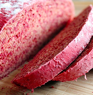 """""""Beet Bread.  Delicious yet healthy."""" says one pinner... more like suspicious and stealthy, but i'm intrigued as to what this would taste like...."""