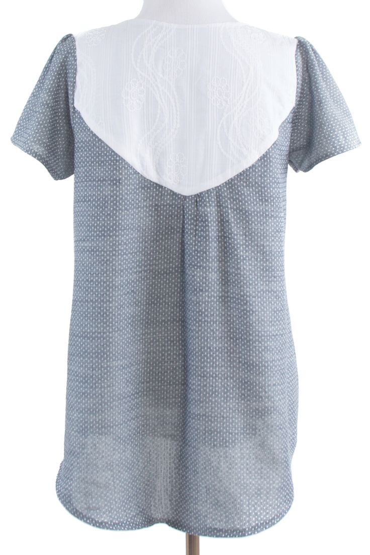 The Wanderer Tunic sewing pattern by Striped Swallow Designs is boho style at  its best.