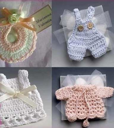 Crochet Baby Shower by ginaska