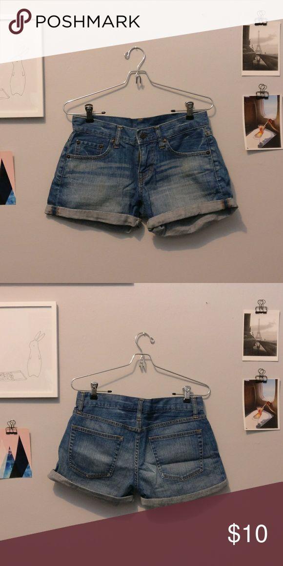 """Uniqlo denim shorts Uniqlo demon shorts 15"""" inches across Uniqlo Shorts Jean Shorts"""