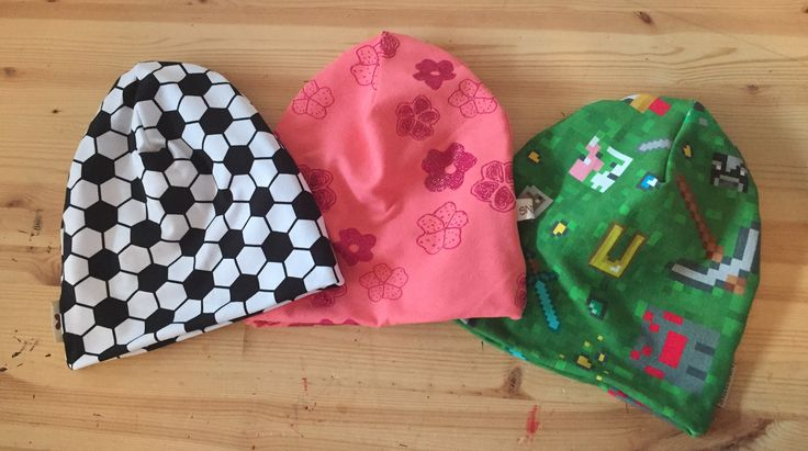 Some hat's, MADE BY ME, bought by a customer.