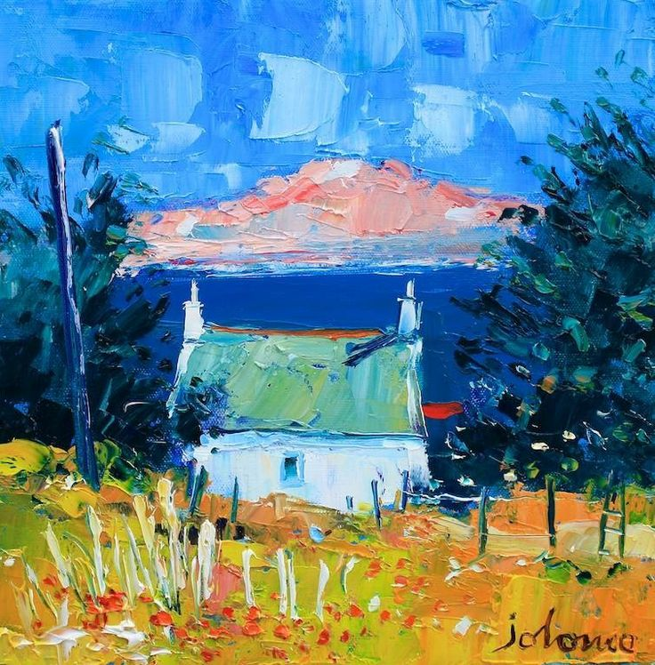 Summer Morning Light, Iona by Jolomo - John Lowrie Morrison