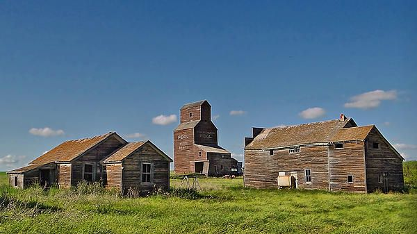 Ghost town of Bents, Saskatchewan