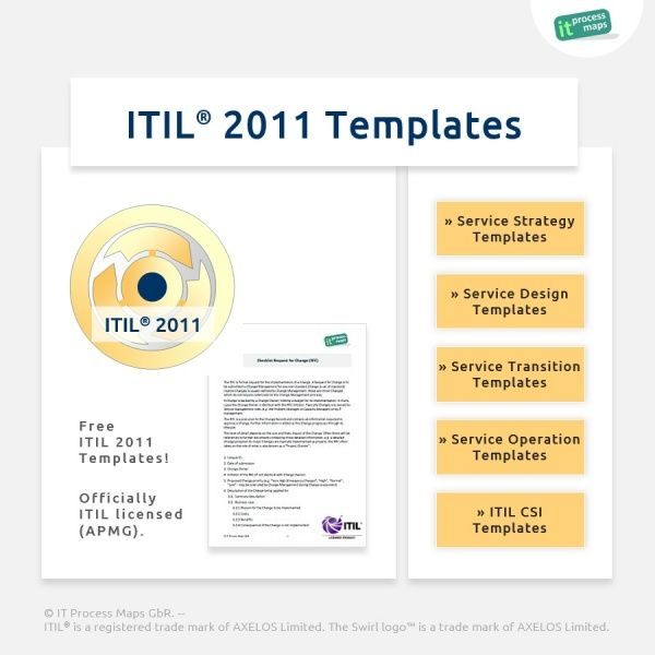 15 best itil templates images on pinterest templates for Itil release management plan template
