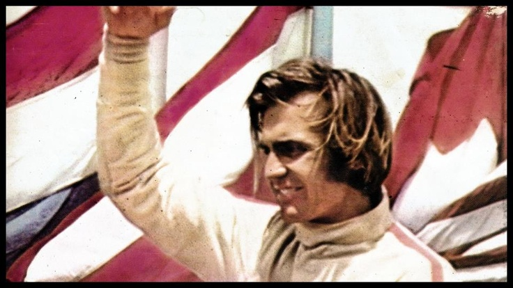 Carlos Reuteman, McLaren M7C, Gran Premio de la República Argentina, Buenos Aires. Carlos Reutemann (Ecurie Bonnier), Argentine Grand Prix, Non-Championship race, 1971. Chris Amon, winner, Henri Pescarolo, 2nd, and Carlos Reutemann, 3rd, in his very first Formula 1 race.