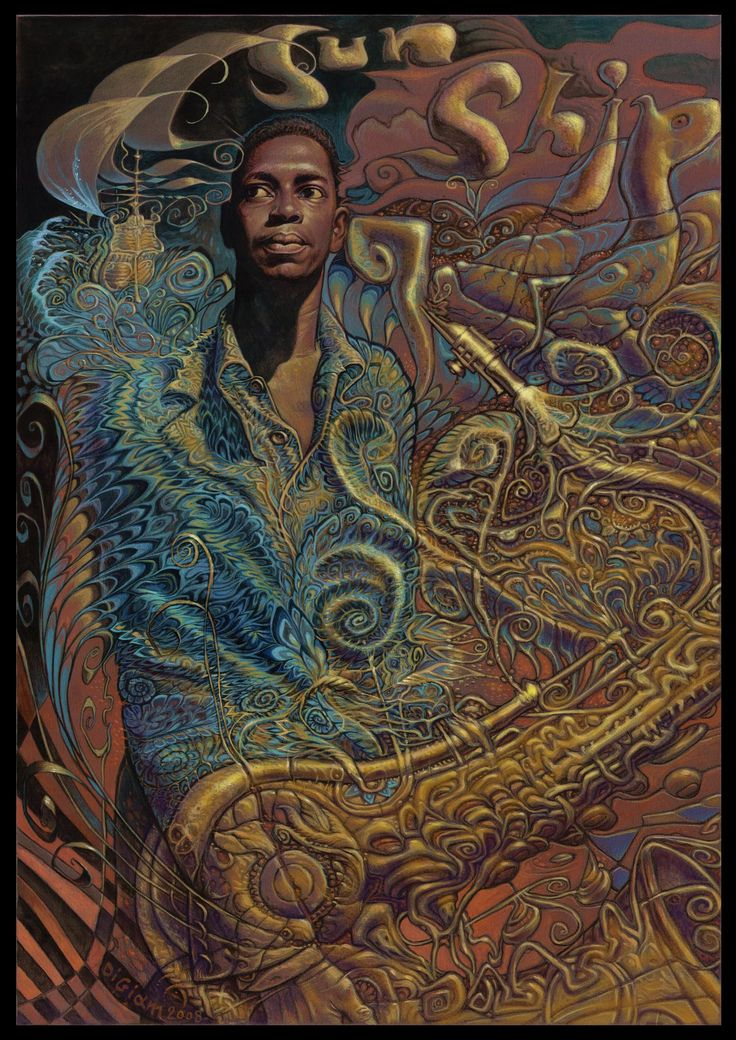 John Coltrane (Sun Ship) by Luigi Di Giammarino