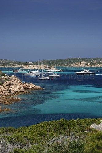 Porto Madonna, Budelli island, La Maddalena archipelago, Sardinia, Italy