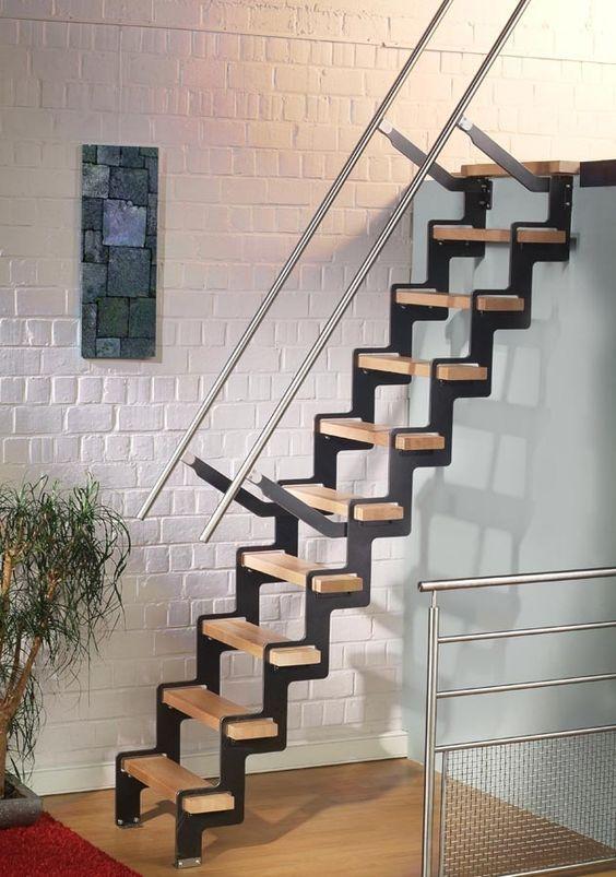 Mejores 51 imgenes de Las Ms Bellas Escaleras de Madera Para