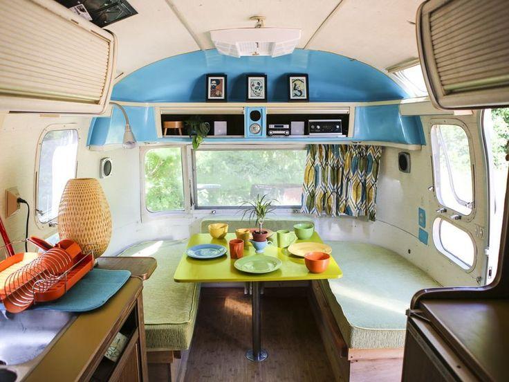 Innovative 1959 Chevrolet Viking Short Bus Converted Into Camper