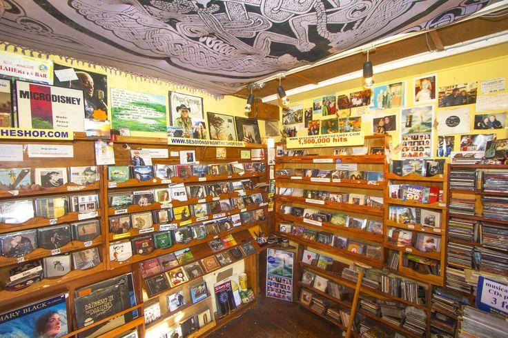 Inside Dingle Record Shop www.dinglerecordshop.com