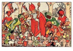 Erven Rie Cramer R. Cramer/Sinterklaas Postkaarten C9604